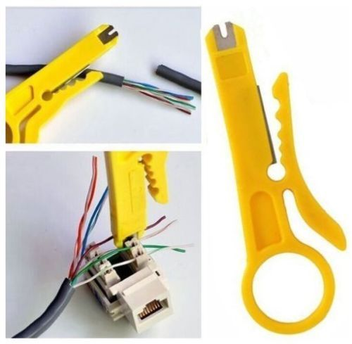 Cable Stripper and Punch Down Tool Network Telstra / ISGM - Click Image to Close
